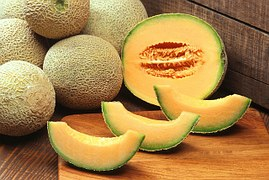 CANTALOUPE OR ROCK MELON, THEY'RE GREAT!